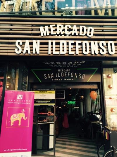 I Edición de la Fundación Esperanza y Alegría en el Mercado de San Ildefonso