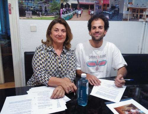 Firma acuerdo de colaboración empresa AUARA