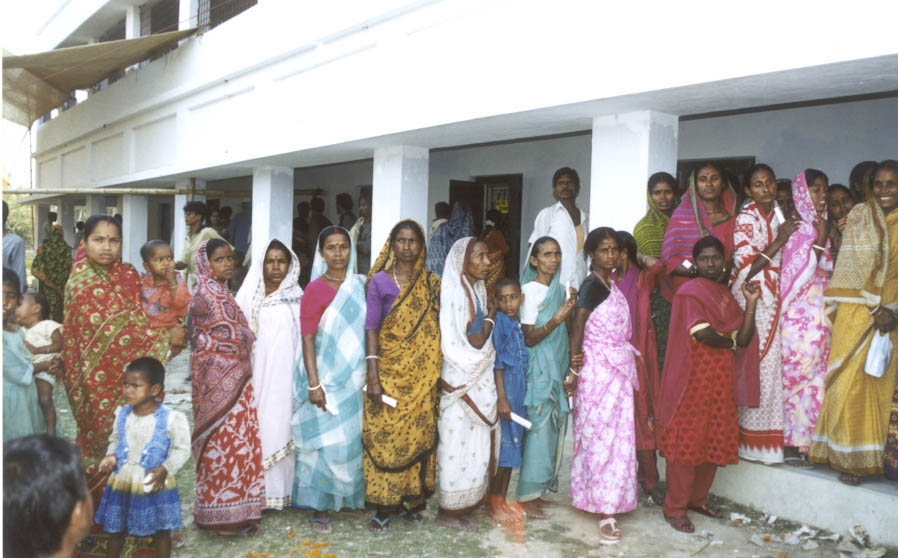 Mujeres Delta del Ganges
