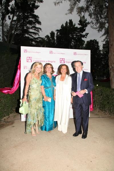María Moreno, Ana Botella y el Dr. Rojas