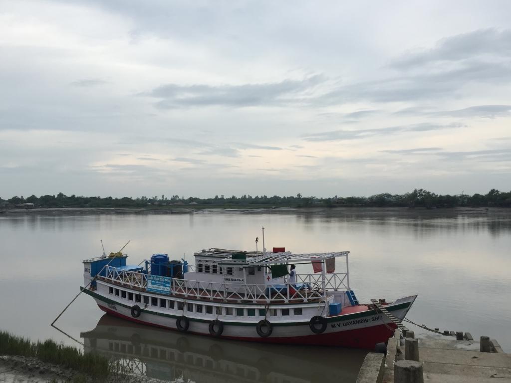 Barco Dispensario Delta del Ganges