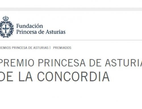 Fallo del Jurado Premios Princesa de Asturias de la Concordia 2017