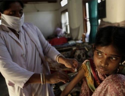 Educación para menores con tuberculosis en India