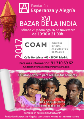 Baza India benéfico 2017 - COAM