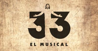 Logotipo 33 El Musical