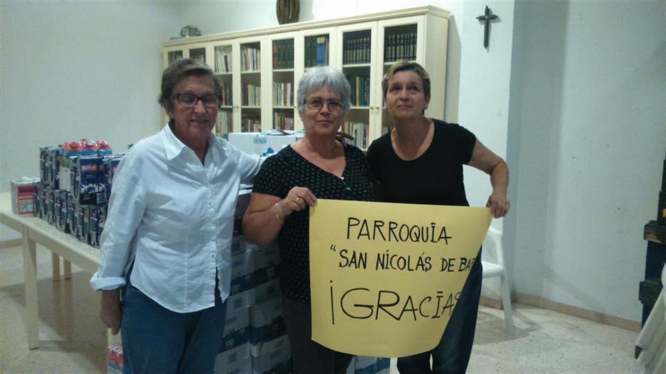 Cadena de Solidaridad en Las Palmas de Gran Canaria
