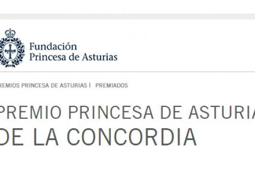Judgment of the Jury Awards Princess of Asturias of the Concordia 2017