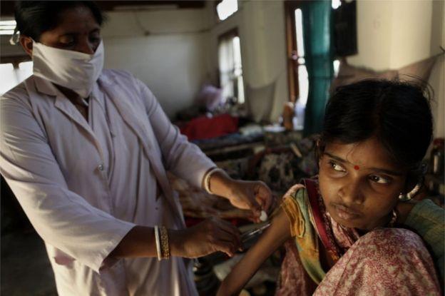 Tuberculosis en la India