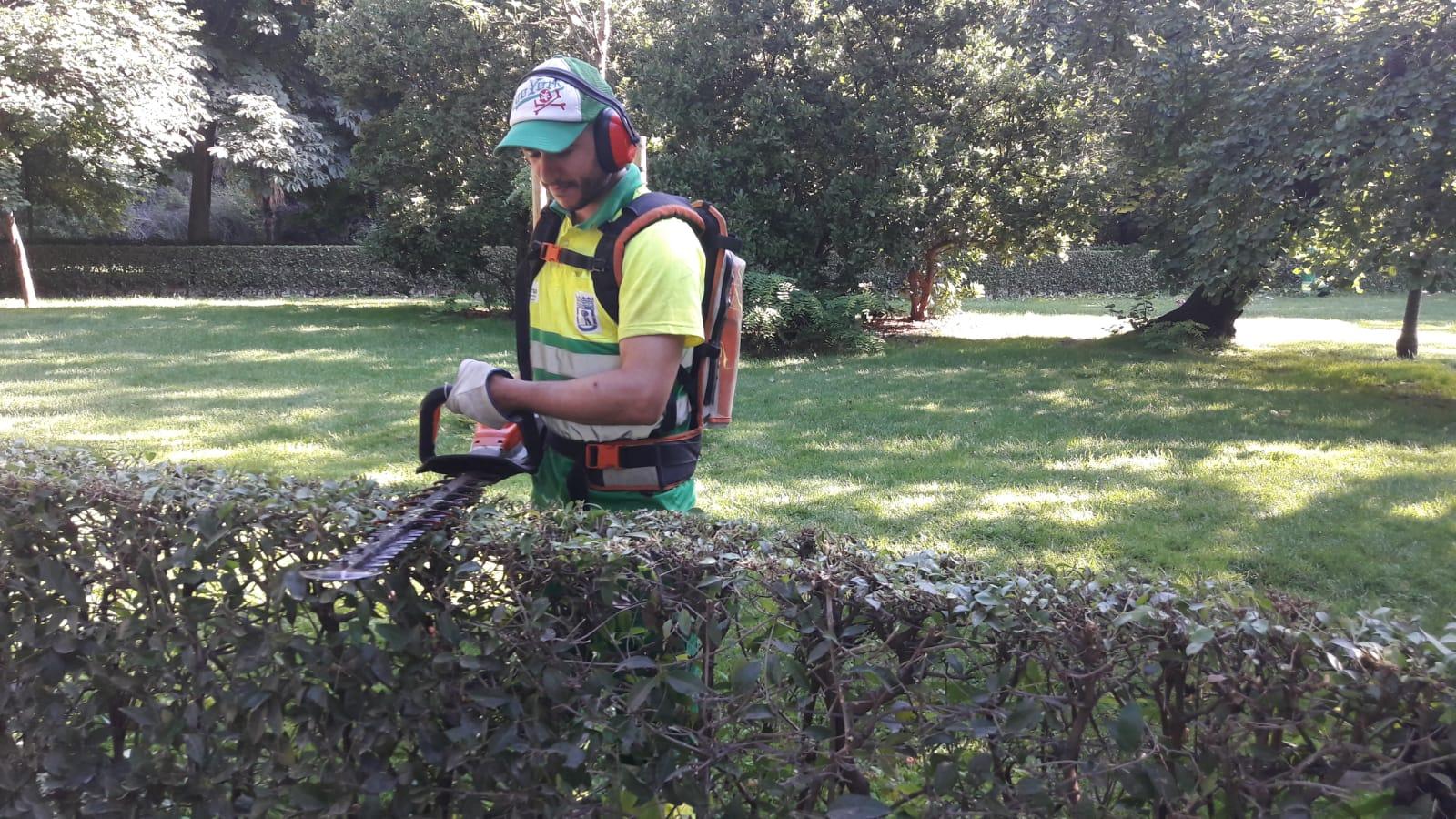 Dos alumnos del curso de Jardinería han sido contratados por Acciona