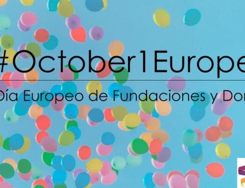 Nos unimos a las celebraciones por el Día Europeo de las Fundaciones y Donantes