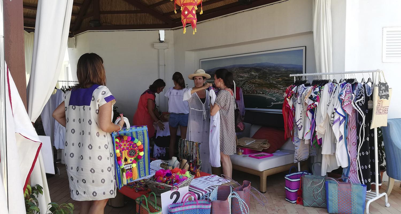 Éxito de asistencia en el XI Bazar Solidario de la India organizado por la Fundación en Sotogrande