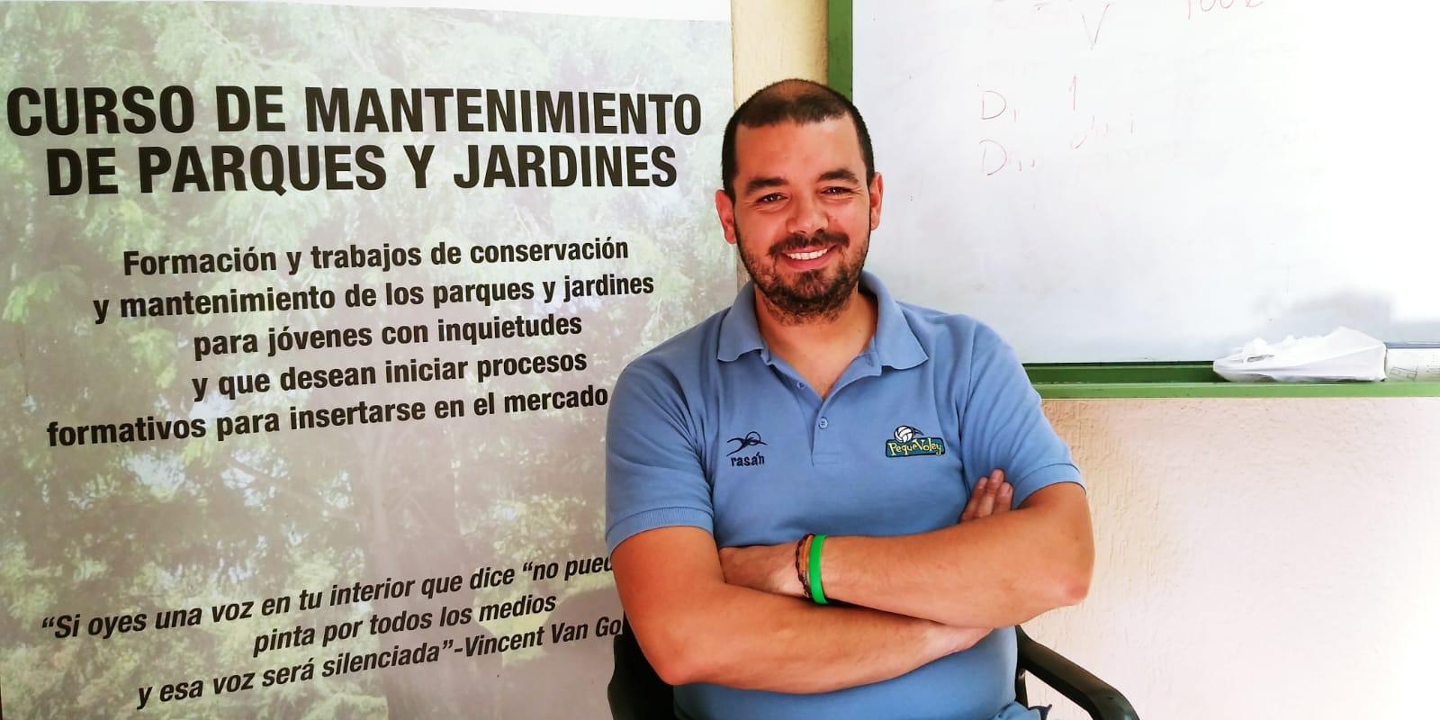 """""""Ser jardinero es una profesión muy bonita, pero ser buena persona y ser asertivo es lo que conseguimos en la Fundación Esperanza y Alegría"""""""