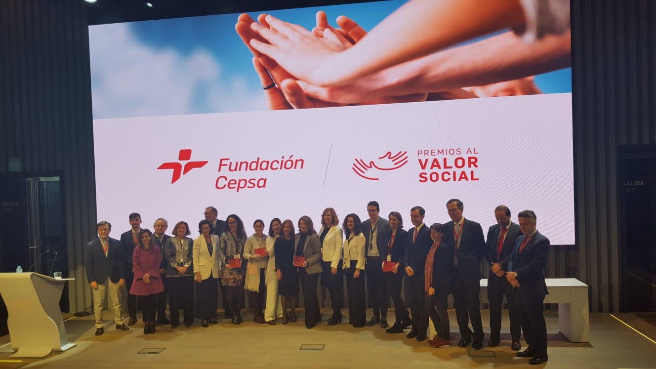 Galardonados con el Premio Valor Social de Fundación Cepsa