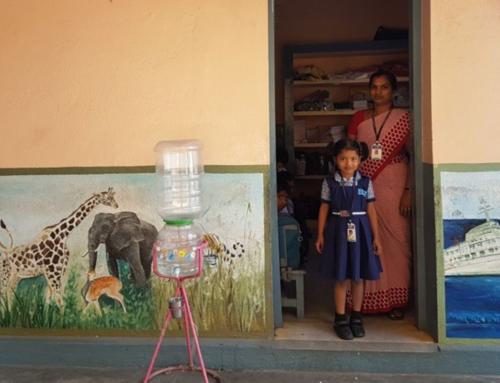 300 menores de Chennai cuentan con una minipurificadora de agua