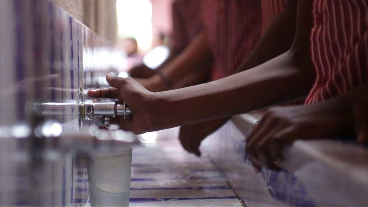 potabilizadora de agua en Sagaya Matha High School