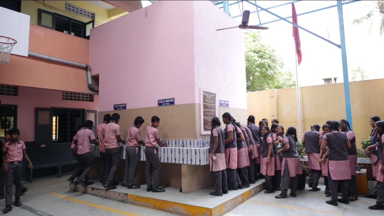 potabilizadora de agua Sagaya Matha High Shool