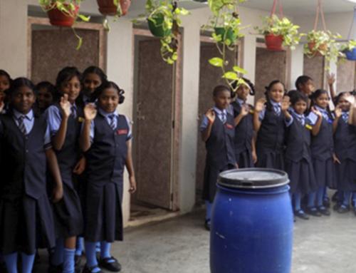 1.200 menores disponen de aseos y un área de lavado en su escuela
