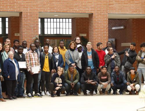 Entrega de diplomas y bienvenida a nuevos alumnos de El Pozo