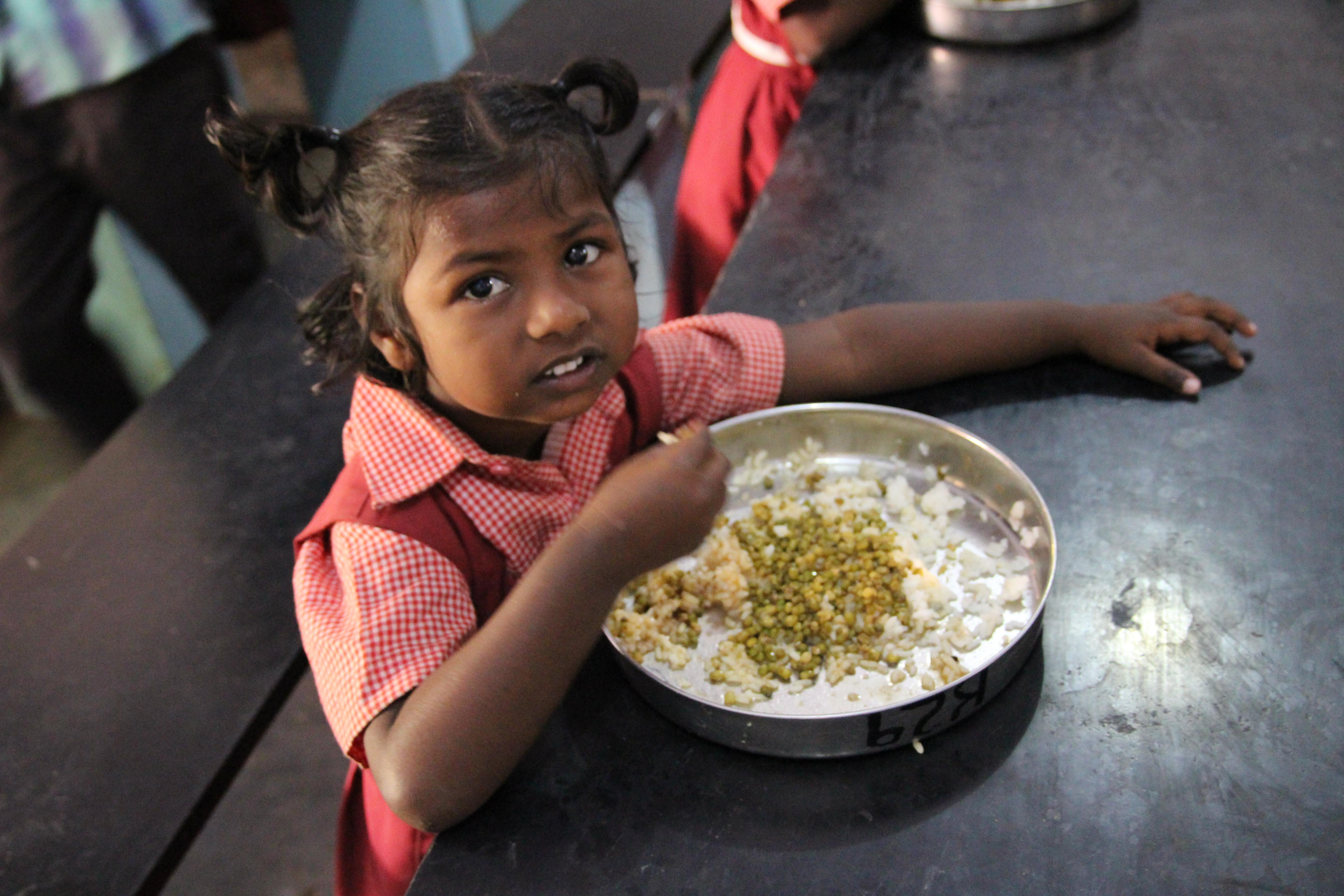 alimentación en la India