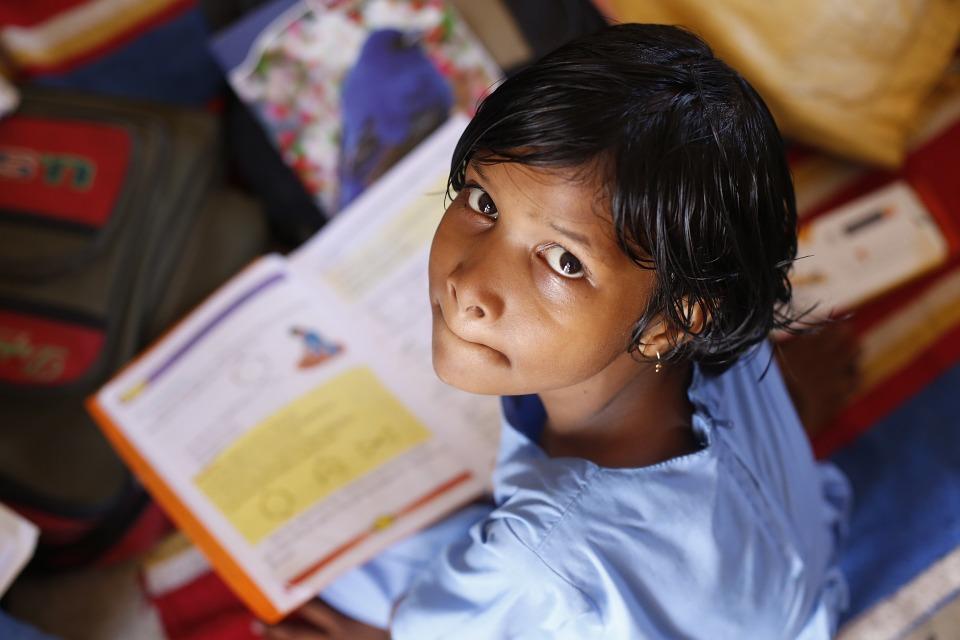 educación en la India