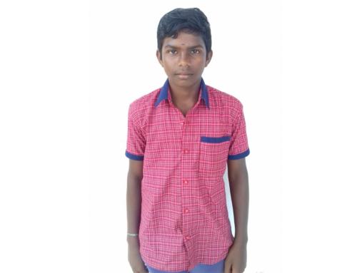 Letter from Sagayaraj, St. Joseph Home